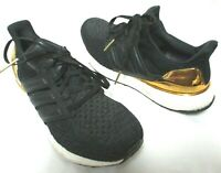 Adidas Ultra Boost 1.0 Gold Medal 2018 Prime Knit black Youth Tennis Shoes Sz 7