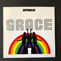 SUPERGRASS rare Promo cd single UK GRACE - Blur OASIS BRIT pop