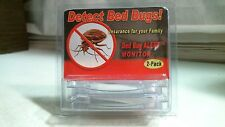 Bird-X Bed Bug Alert Monitor, 2 Pack, Free Shipping