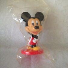 Mickey Mouse Toy Disney Mini Bobble Heads Kellogg's Vintage NIB