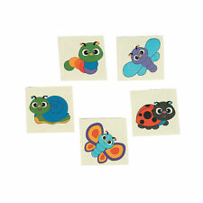 Cute Insect Bug Temporary Tattoos giveaways - pack of 36