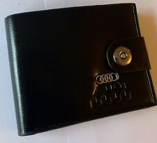 Audi Men's Leather Wallet perfect gift Idea UK Seller 🇬🇧