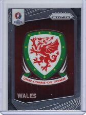 2016 Panini Prizm UEFA Euro Badge Insert #21 Wales