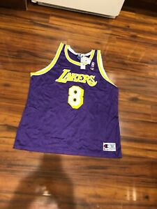 NWT Los Angeles Lakers Kobe Bryant Purple Champion Jersey 52 New With Tags!!!
