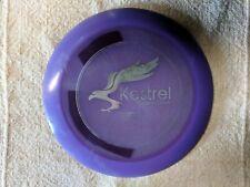 Purple Kestrel Distance Driver 175g Made by Vikun Disc Golf 13 5 0 3 Silver Foil