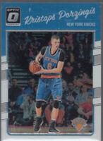 KRISTAPS PORZINGIS 2016-17 Panini Donruss Optic #60 NY Knicks 2nd Year Mint