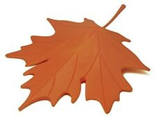 Qualy Leaf Door Stopper - Orange Autumn 090014OR Furniture Accessories