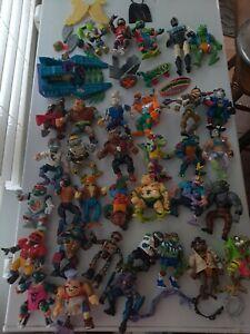 Vintage TMNT Teenage Mutant Ninja Turtles Lot of 34 figures with accessories 17