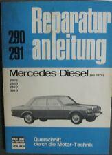 * MERCEDES BENZ  200 D 240 D 220 D  300 D W 123 Reparaturanleitung  ab 1976 *