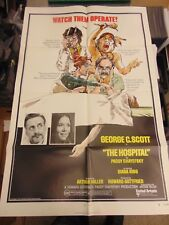GEORGE C SCOTT DIANA RIGG THE HOSPITAL ORIG 27X41 POSTER MP182