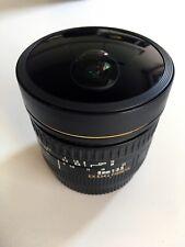 Sigma 8mm F3.5 EX DG Fisheye Lens - Canon