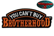 Brotherhood Biker patch écusson Aufbügler biker moto rocker Harley Skull US