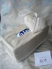 LUXURY SILK Laura Ashley HEART HANGER+TISSUE BOX COVER Mothers Day Wedding gift