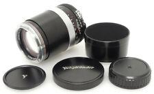 Voigtlander Apo-Lanthar 180mm F4 SL Lens. Hood For Nikon