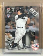 2017 TOPPS NOW #HRD-2 AARON JUDGE NEW YORK YANKEES ROOKIE HOME RUN DERBY