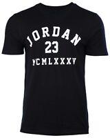 NWT Nike Air Jordan Men's Sz Large  23 MCMLXXXV T-Shirt Black  820669-010
