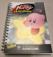 GameCube Kirby Air Ride Notebook Employee Promo Official Nintendo Promotional