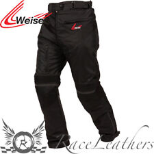 WEISE LUNA BLACK LADIES WATERPROOF MOTORCYCLE MOTORBIKE BIKE JEANS TROUSERS
