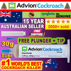 GENUINE FRESH Advion Cockroach Gel 30g FRESH AUSTRALIAN STOCK Roach Bait Killer