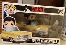 New Funko POP! Rides 03 - Scarface - Tony's Convertible (Tony Montana) VAULTED!