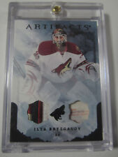 2010-11 UD Artifacts Emerald Ilya Bryzgalov Patch & Tag Patch #'d 5/5 Coyotes SP