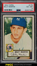 1952 Topps Billy Martin ROOKIE RC #175 PSA 6 EXMT (PWCC)