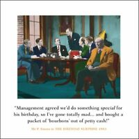 Packet Bourbons Funny Drama Queen Birthday Greeting Card Retro Humour Cards