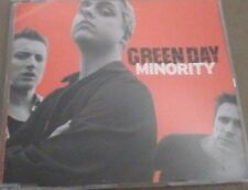 Green Day 'Minority (Radio Version)' 1 Track Promo CDr Single (2000)