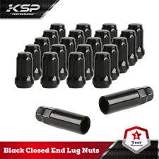 20pc Black Closed end Lug Nuts Aftermarket Fits Tuner YJ MK RT Accord Civic CRV