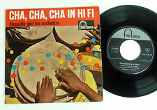 "CHAQUITO ""Cha Cha Cha in Hi Fi"" D 60s M-/EX Latin LOUNGE Exotica 7"" EP Fontana"