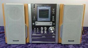 Panasonic Minidisc Stereo Hifi SA-PM37MD CD/MD/TAPE MDLP