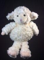 """Babystyle LuLu Cream Lamb Plush Soft Toy 17"""" Rare Stuffed Animal Fluffy Sheep"""