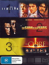 Timeline - Sum Of All Fears - Core - Action / Thriller / Sci-Fi - NEW DVD