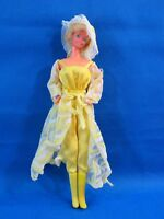 Vintage Mattel 1966 Barbie Doll Bent Arms Jointed Legs Philippines