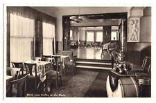 AK, Braunlage Oberharz, Kaffeehaus Dietze, Blick vom Kaffee ind die Diele, 1938