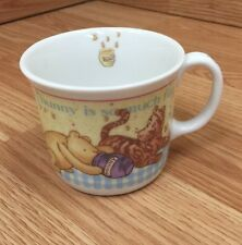 "Winnie The Pooh ""classic Pooh"" Royal Doulton Mug Cup Sharing Honey Eeyor Tigger"