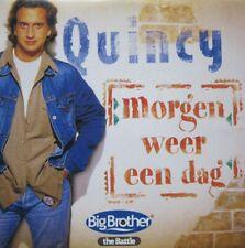 QUINCY - MORGEN WEER EEN DAG  - CD-SINGLE - cardboard