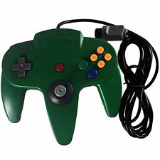 Replacement Nintendo 64 Classic Wired Controller Green Gamepad For N64 2Z