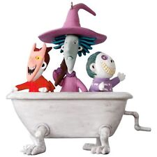 Hallmark 2017 Lock Shock and Barrel Nightmare Before Christmas  Magic Ornament