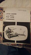 John Deere 42 Combine S/N 4001- Owner's Operator's Manual