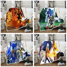 Sonic the Hedgehog Warm Sofa Blanket Throw Bedspread Bedding130*150cm, 150*200cm