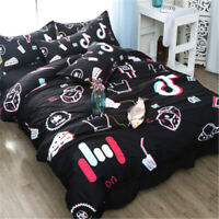 Bed Brushed Set Creativity Bedding Set Personality 1 Duvet Cover+2 Pillowcases