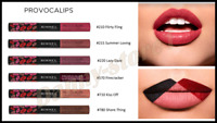 NEW RIMMEL PROVOCALIPS 16HR KISS PROOF LIQUID LIPSTICK Lasting All Day