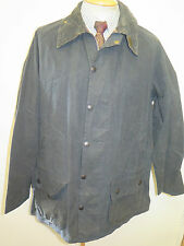 """A155 Barbour Beaufort  Waxed jacket - XL 48"""" Euro 58 in Blue"""