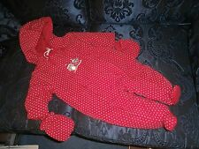 Baby Girls Disney Minnie Mouse Snow Suit 6-9 mths With Detachable Gloves&Boots