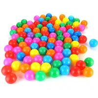 100pcs Colorful Soft Ocean Ball Secure Baby Kids Boy Girl Pit Swim Fun Play Gift