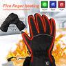 Unisex Motorrad Beheizte Warme Handschuhe USB Elektrische Heizhandschuhe Winter