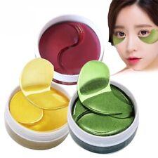 60pcs Collagen Eye Mask Pad Face Anti Wrinkle Gel Gold Mask Eye Bags Dark Circle