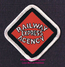 LMH PATCH Badge  RAILWAY EXPRESS AGENCY Service Rail REA American Delivery 2.75""