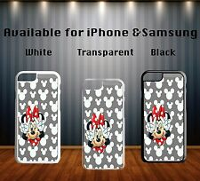 Minnie Mouse Disney Funny Hipster Sign Collage Art Hard Phone Case Cover X279
